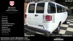 dodge maxi 2002 dodge ram wagon 3500 127 wb maxi national auto brokers