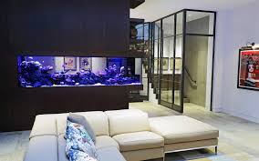 custom room dividers luxurious custom made aquarium aquarium architecture