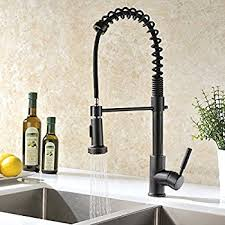 faucet kitchen comllen best antique rubbed bronze pull sprayer kitchen