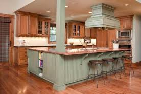 green kitchen islands cool kitchen with white painted cabinets and green island top