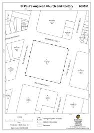 Anglican Church Floor Plan by St Pauls Anglican Church And Rectory Environment Land And Water