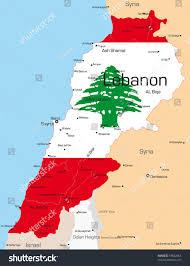 Map Of Lebanon Where Is Lebanon Country X X Us 2017