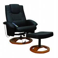 siege massant chauffant fauteuil massant chauffant et relaxant noir avec repose pieds idée
