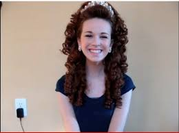 hairstyles for an irish dancing feis how to put on your irish dancing wig antonio pacelli