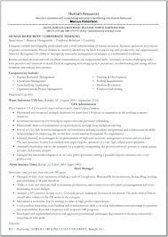 Human Resource Director Resume Resume Example Human Resource Manager Resume Best Objective