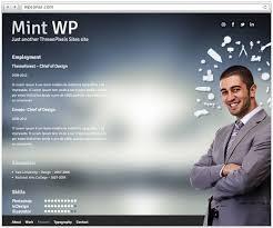 Website Resume Examples Wordpress Resume Template Resume Websites Examples Novel Study
