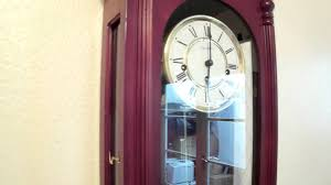 Hermle Grandfather Clock Westminster Chime Wall Clock London Clock Co Hermle Movement Item