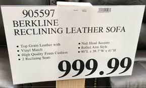 Leather Loveseat Costco Sofas Center Costco Leather Recliningofa Cymun Designsurprising