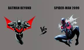 futuristic fistfight batman spider man 2099 blog