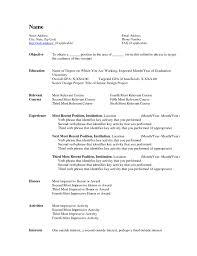 275 free microsoft word resume templates the muse saneme