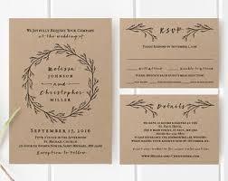 wedding invitation templates printable wedding invitation template set floral wedding
