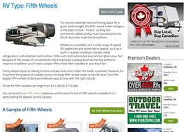 Seeking Trailer Canada Rv Types Learn About Fifth Wheels Rvhotline