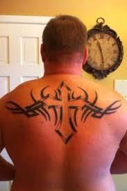 tribal cross tattoos on shoulder cross tattoo designs idea