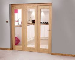oak interior doors with glass perfect glass bifold doors ideas for install glass bifold doors