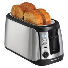 See Through Toaster Hamilton Beach 4 Slice Keep Warm Toaster 24810 Target