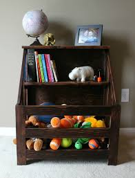 Wooden Toy Box Diy by Ana White Kendra Storage Console Aka Bookshelf Toybox Diy