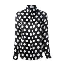 black and white blouses moschino polka dot blouse black and white things to wear