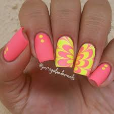35 water marble nail art designs art and design