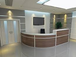 Office Reception Desks by Great Office Furniture Reception Desk Design Curtain In Office