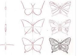 imagenes de mariposas faciles para dibujar dibujo mariposas aprende a dibujar