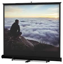 retractable home theater screen portable projection screen 120 x 120 w retractable design