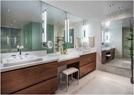Chan Furniture Bathroom Vanity Bathroom Contemporary Miami Bisazza Custom Made Mosaic Tiles