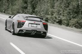 lexus service vancouver photo gallery matte silver lexus lfa on the open road lexus