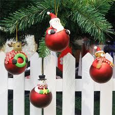 aliexpress com buy cartoon christmas colorful ball polymer clay