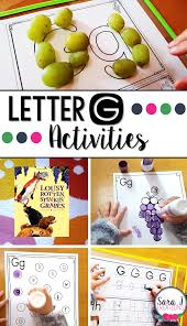 letter g activities sara j creations