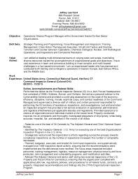 Military To Federal Resume Examples by Resume Examples Cover Letter Veteran Resume Sample Veteran Service