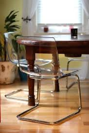 Lucite Chairs Ikea How Old Furniture Becomes Modern Furniture Modern Decorating