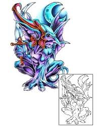 gargoyle tattoos and tattoo designs