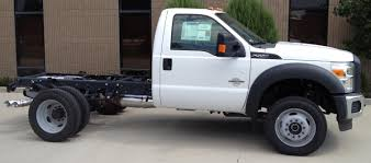 Ford 3500 Diesel Truck - in the shop at wasatch truck equipment