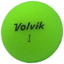 volvik matte finish matte finish golf balls green dozen