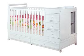 3 In 1 Mini Crib by Bedroom Appealing Ne Brown Wood Crib Changer Combo 3 Drawers On