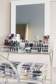 diy makeup vanity fashionably lo