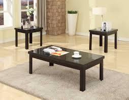 black faux marble top coffee u0026 end table set 3pcs