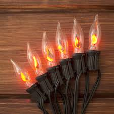 flicker flame string lights our flickering flame string lights add a realistic glow to any
