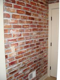 brick walls diy faux brick wall tutorial faux brick walls bricks and walls
