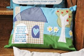 bespoke tailor made cushions from raspberry hen