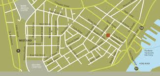 Map Of Portland Maine by Find Us The Danforth Inn Portland Me