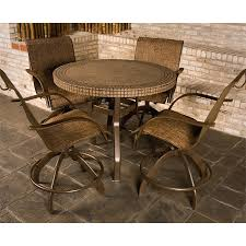 Patio High Table And Chairs Bar Height Patio Chairs