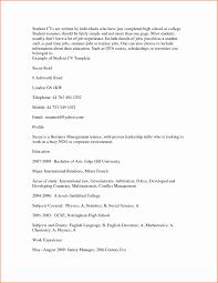 student resume template word 2007 resume template undergraduate format curriculum vitae pdf student