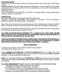 Copy Of A Resume Sample Audition Resume Resume For Your Job Application