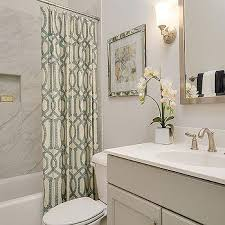 bathroom with shower curtains ideas gray and green bathrooms design ideas
