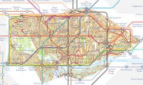 Portland Street Map by Awesome London Map Analyzes Soccer Fandom Football Team