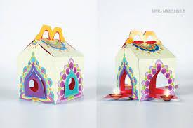mcdonalds box of joy on behance