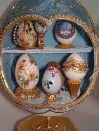 decorative eggs that open ostrich