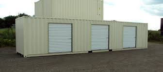 shipping containers for commercial storage facilities