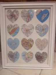 what to get husband for 1 year anniversary all the places we ve traveled one year anniversary gift paper